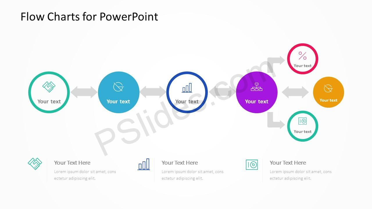 Flow Charts for PowerPoint Slide 4
