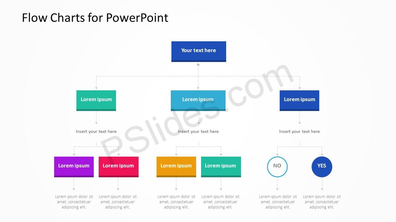 Flow Charts for PowerPoint Slide 5