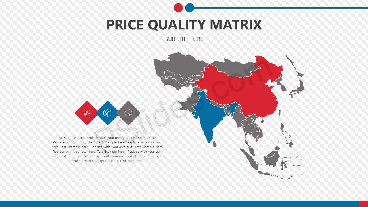 Price Quality Matrix for PowerPoint Slide5