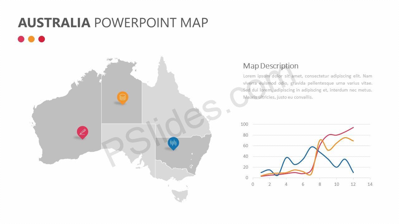 Australia PowerPoint Map Slide 4