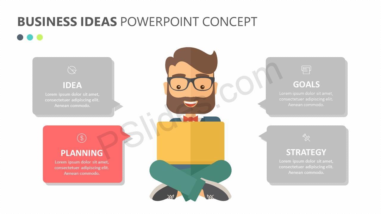 Business Ideas PowerPoint Concept Slide 2