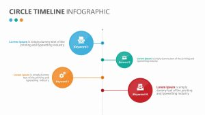 Circle Timeline Infographic for PowerPoint