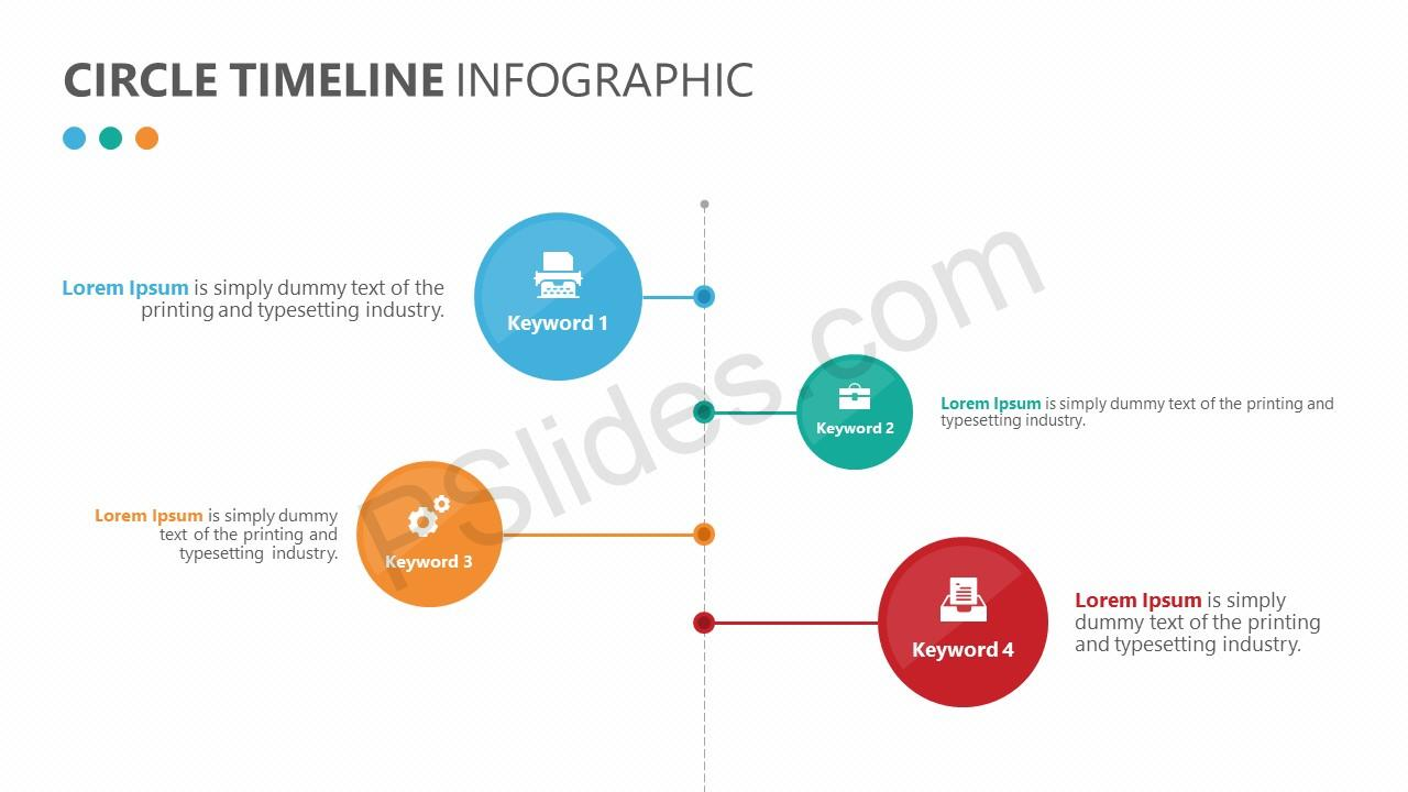 Circle Timeline Infographic 1