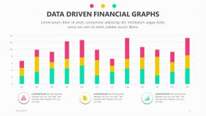 Data Driven Financial Graphs for PowerPoint