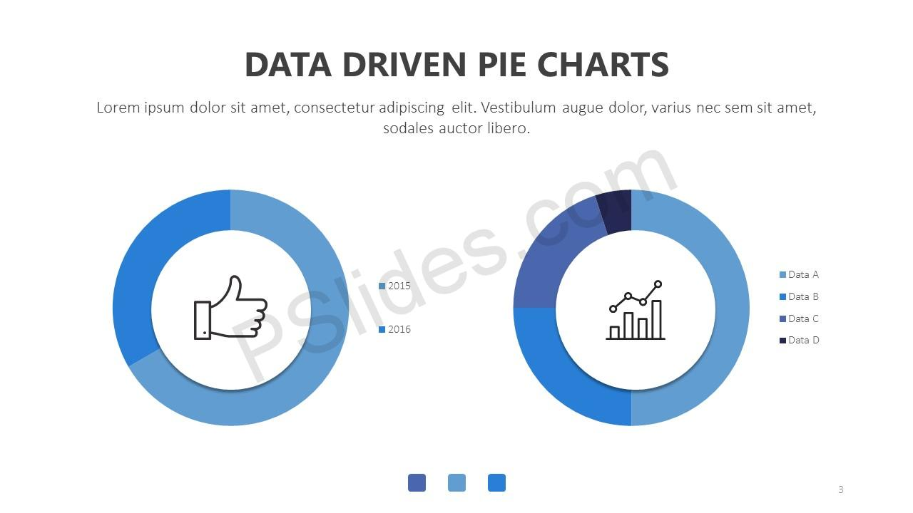 Data Driven Pie Charts for PowerPoint Slide 3