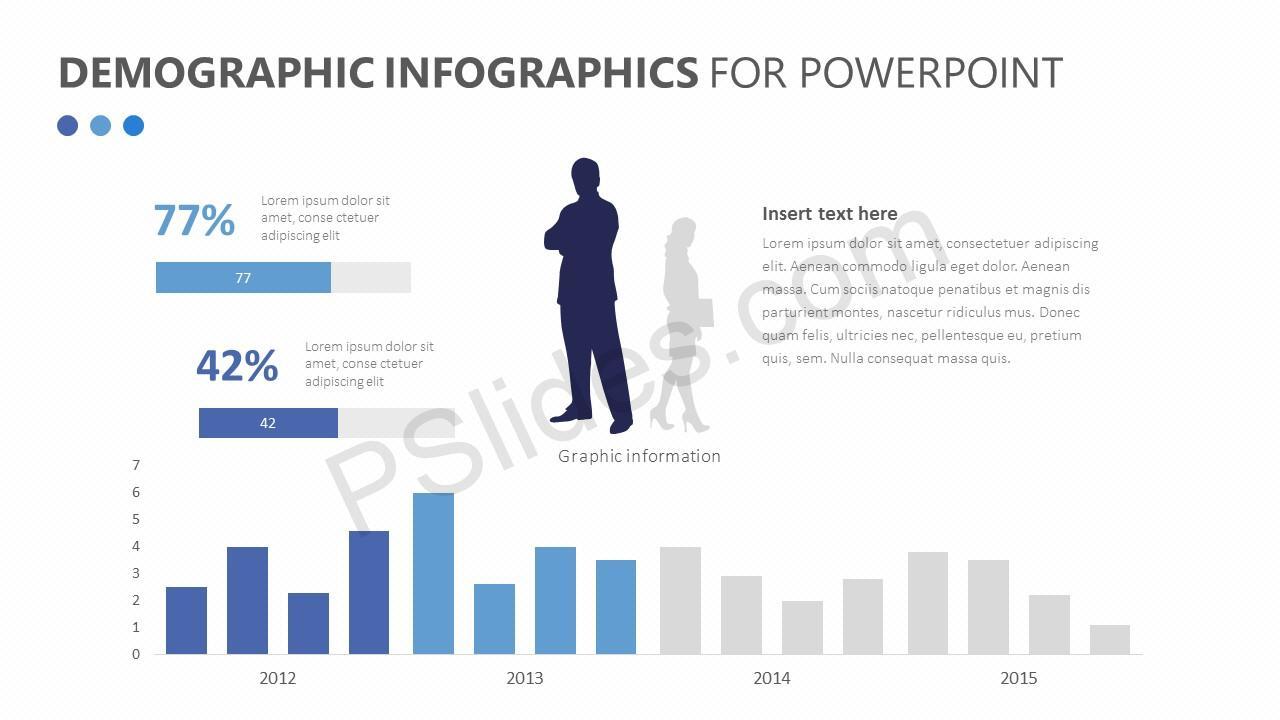 Demographic Infographics Slide 4