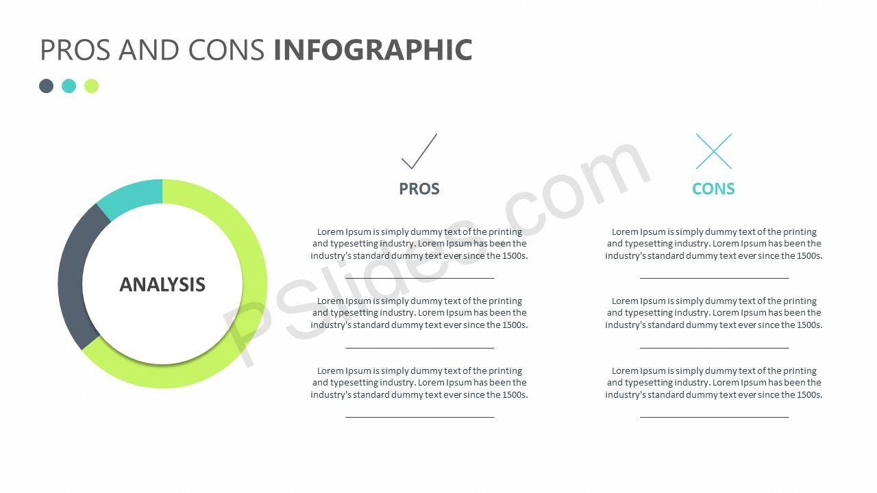 Pros and Cons Infographic Slide 2