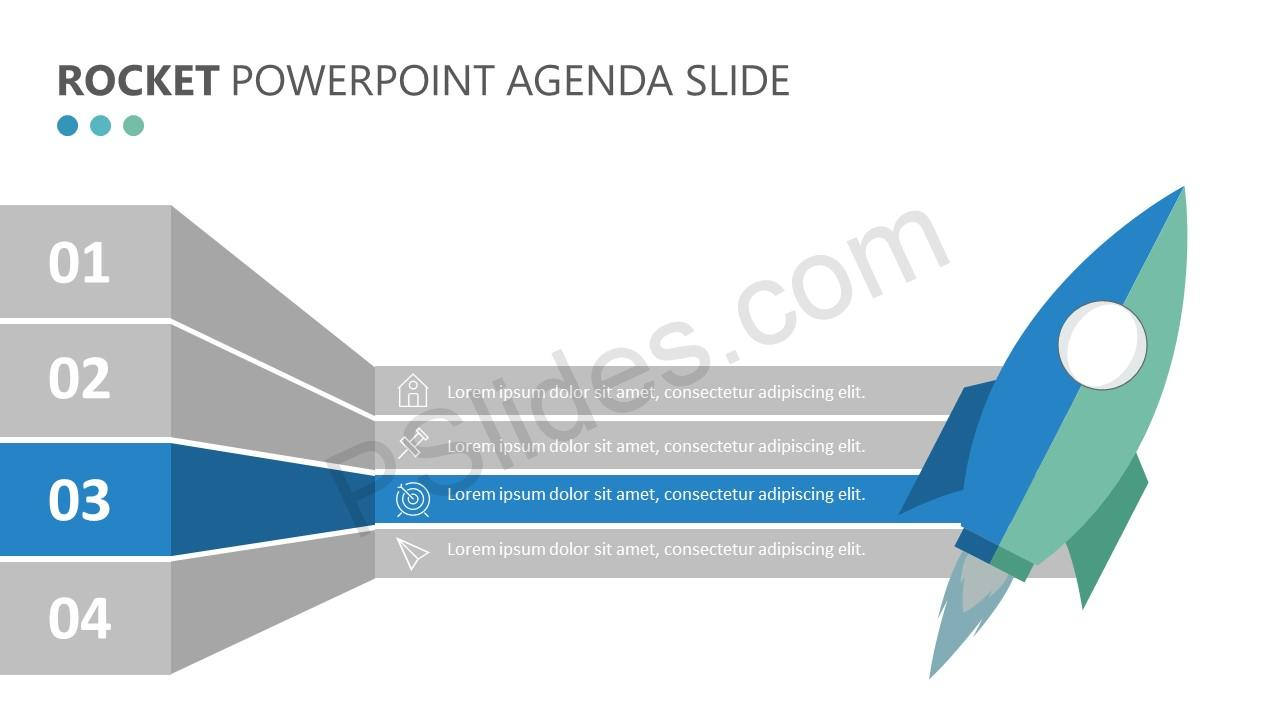 Rocket PowerPoint Agenda Slide (1)