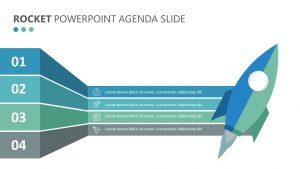 Rocket PowerPoint Agenda Slide (2)