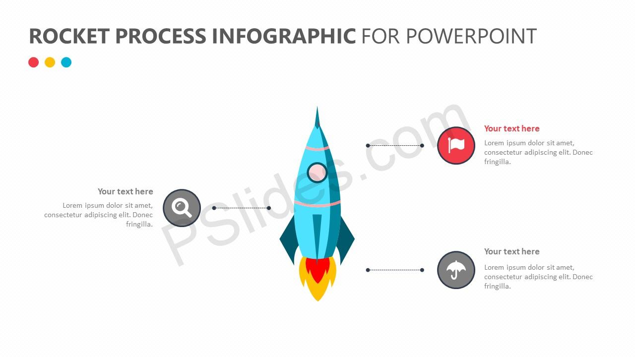 Rocket Process Infographic for PowerPoint (4)