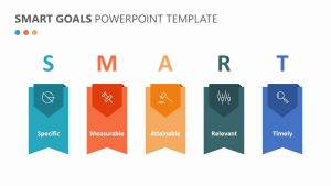SMART Goals PowerPoint Template Slide 1