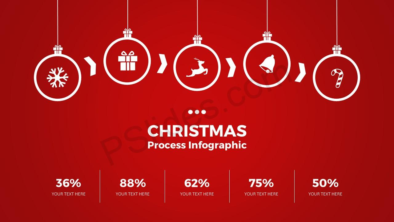 Christmas Powerpoint Template Pslides