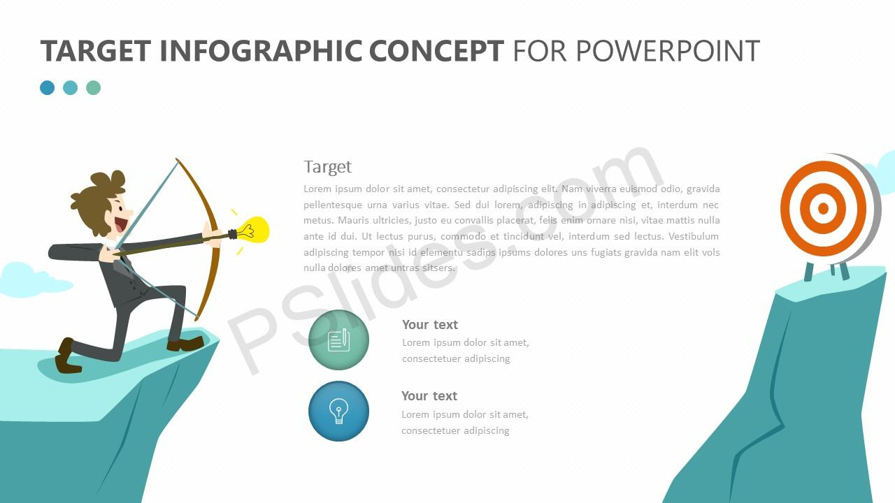 Target Infographic Concept for PowerPoint (1)
