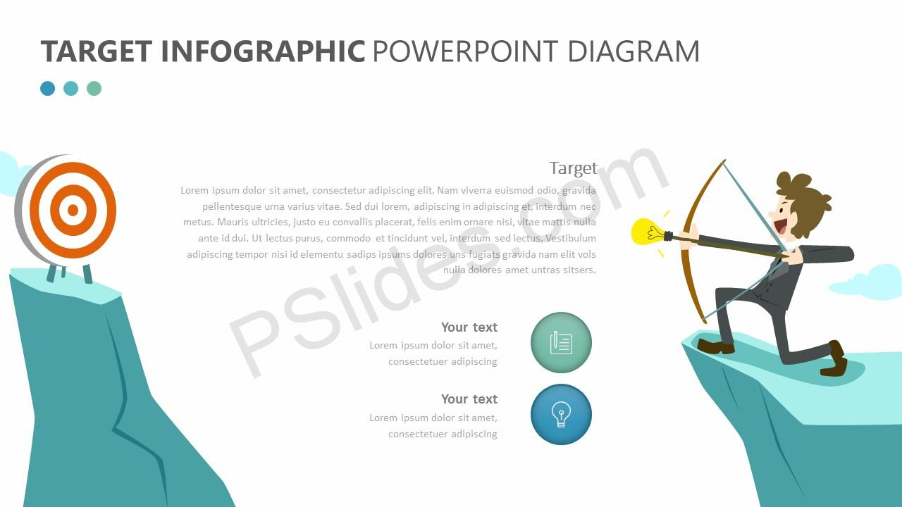 Target Infographic Concept for PowerPoint (2)