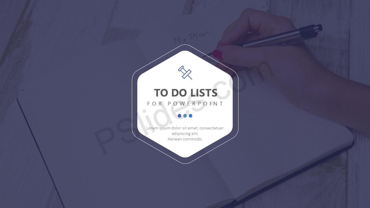 To Do Lists for PowerPoint Slide 1