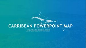 Caribbean PowerPoint Map