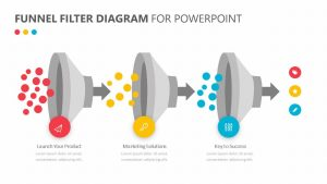 Funnel Filter Diagram for PowerPoint