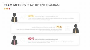 Team Metrics PowerPoint Diagram