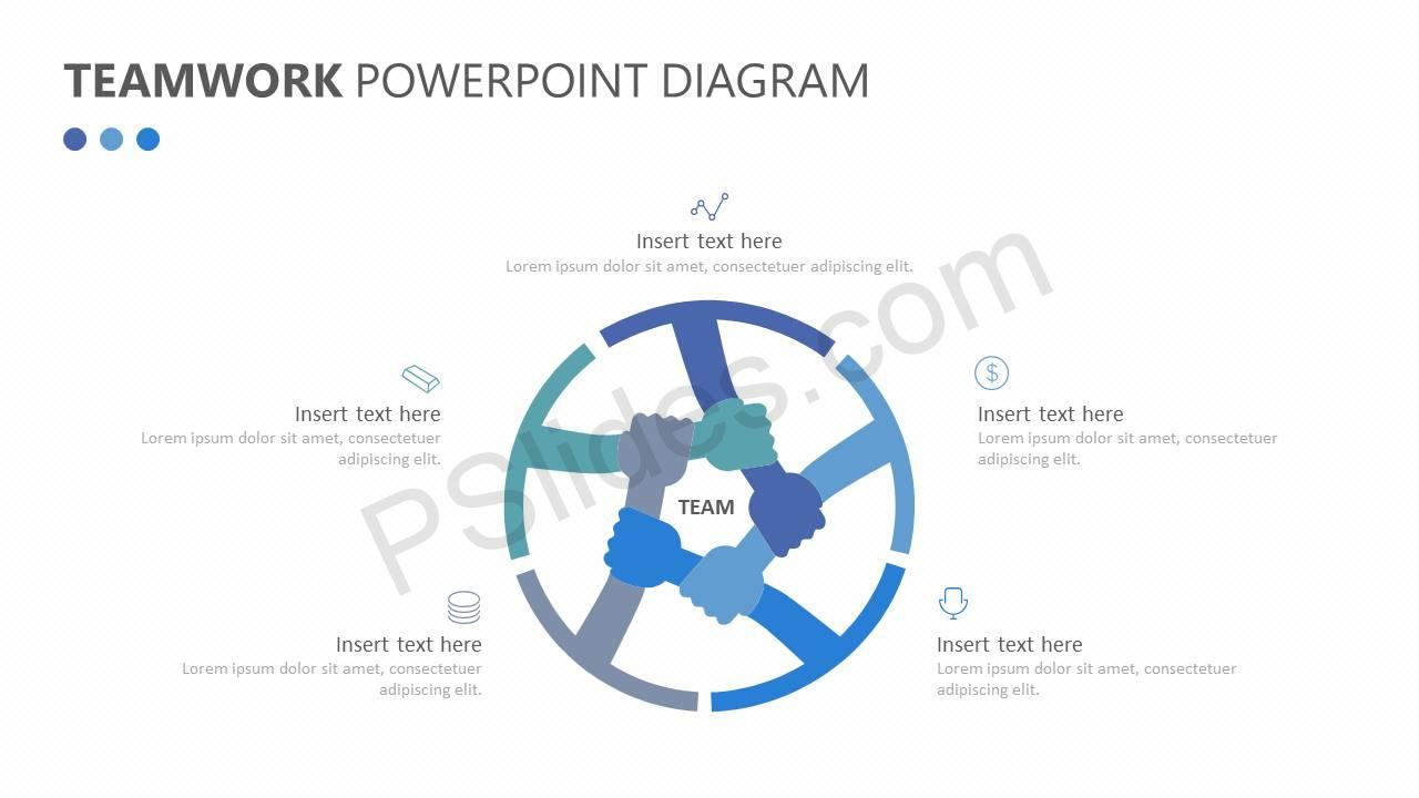 Teamwork PPT Diagram