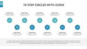 10 Step Circles With Icons