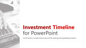 Investment Timeline for PowerPoint