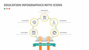 Education Infographic With Icons