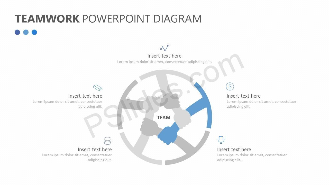 teamwork powerpoint diagram