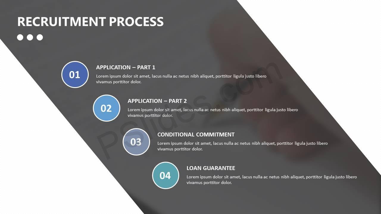 Recruitment Process Powerpoint Template Pslides