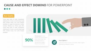 Cause and Effect Domino for PowerPoint