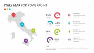 Italy Map for PowerPoint