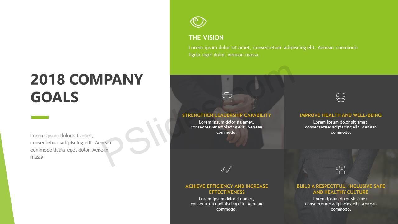 2018 Company Goals Slide1