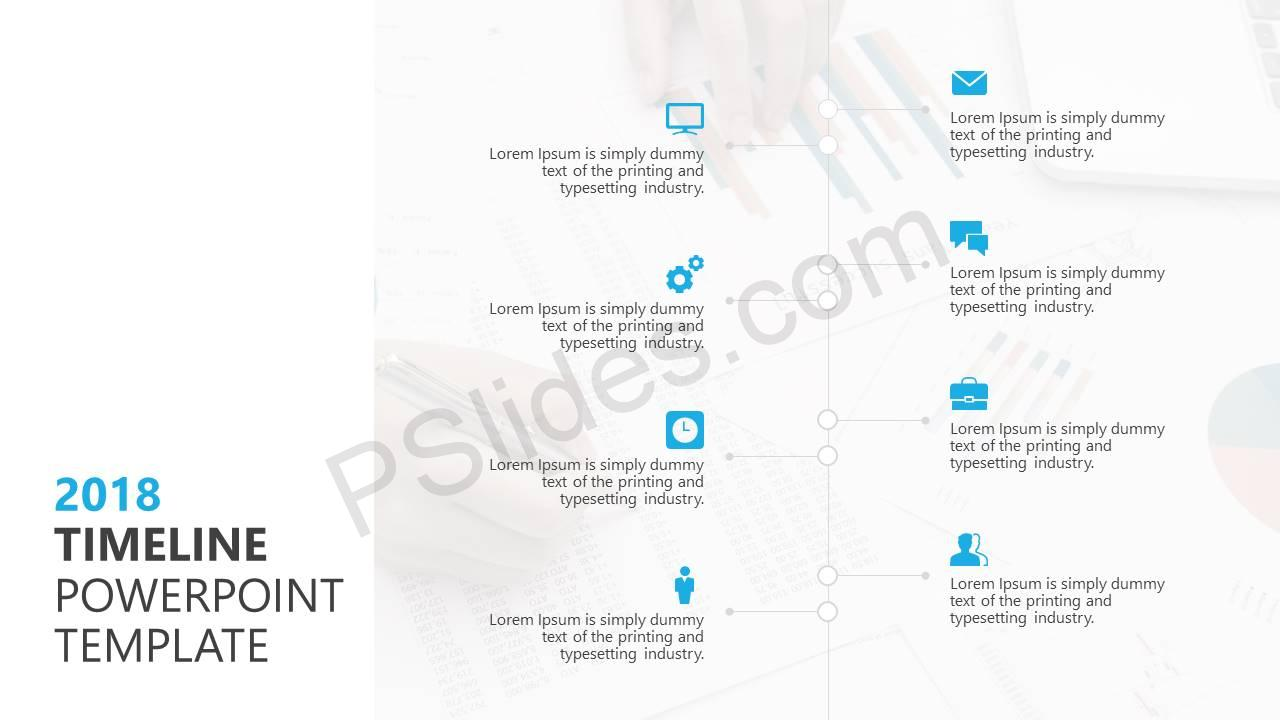 2018 Timeline PowerPoint Template Slide1