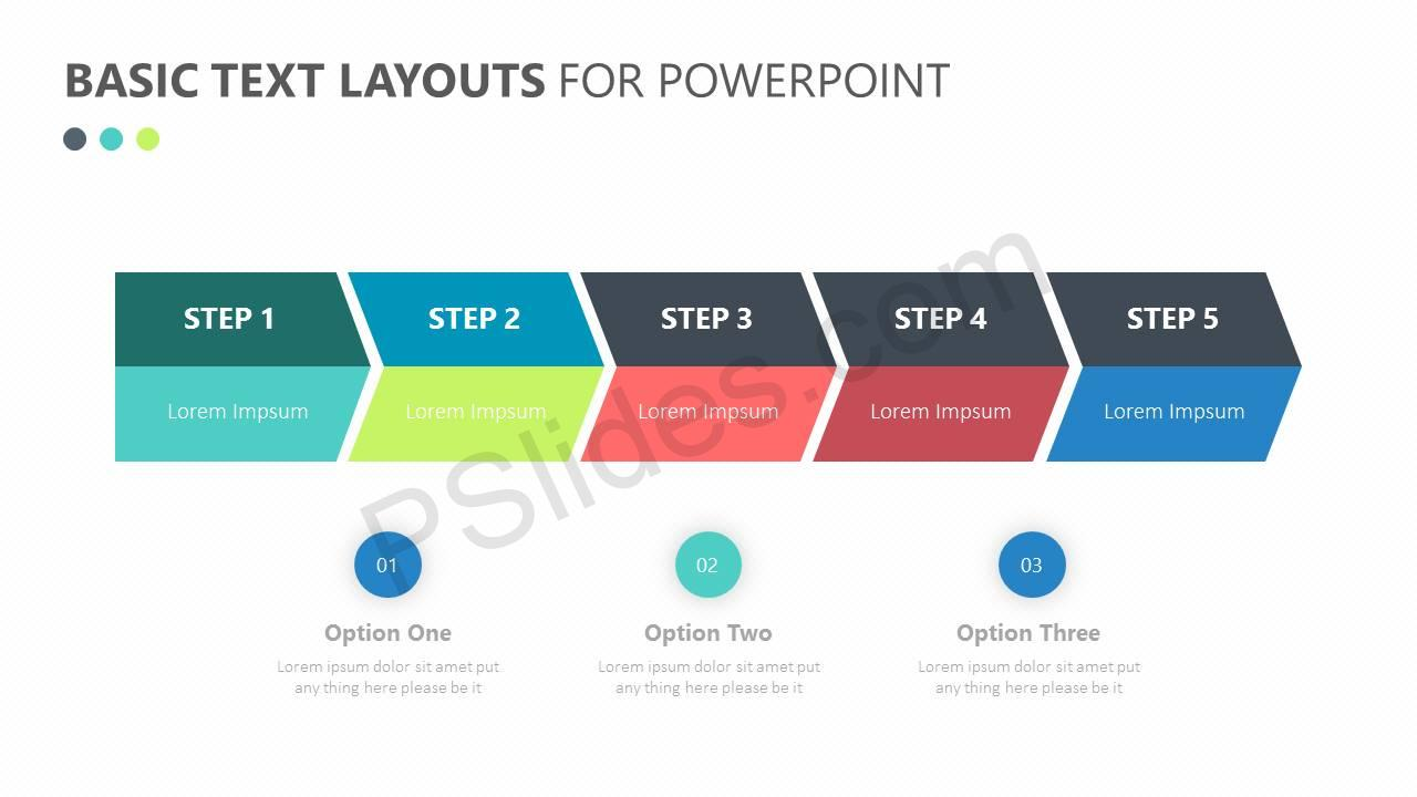 Basic Text Layouts for PowerPoint Slide2
