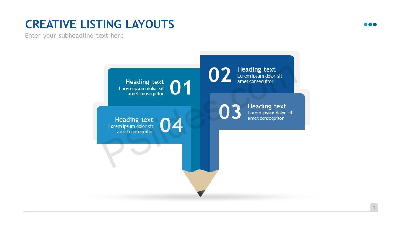 Creative Listing Layouts Slide2