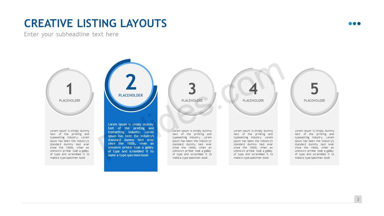 Creative Listing Layouts Slide3