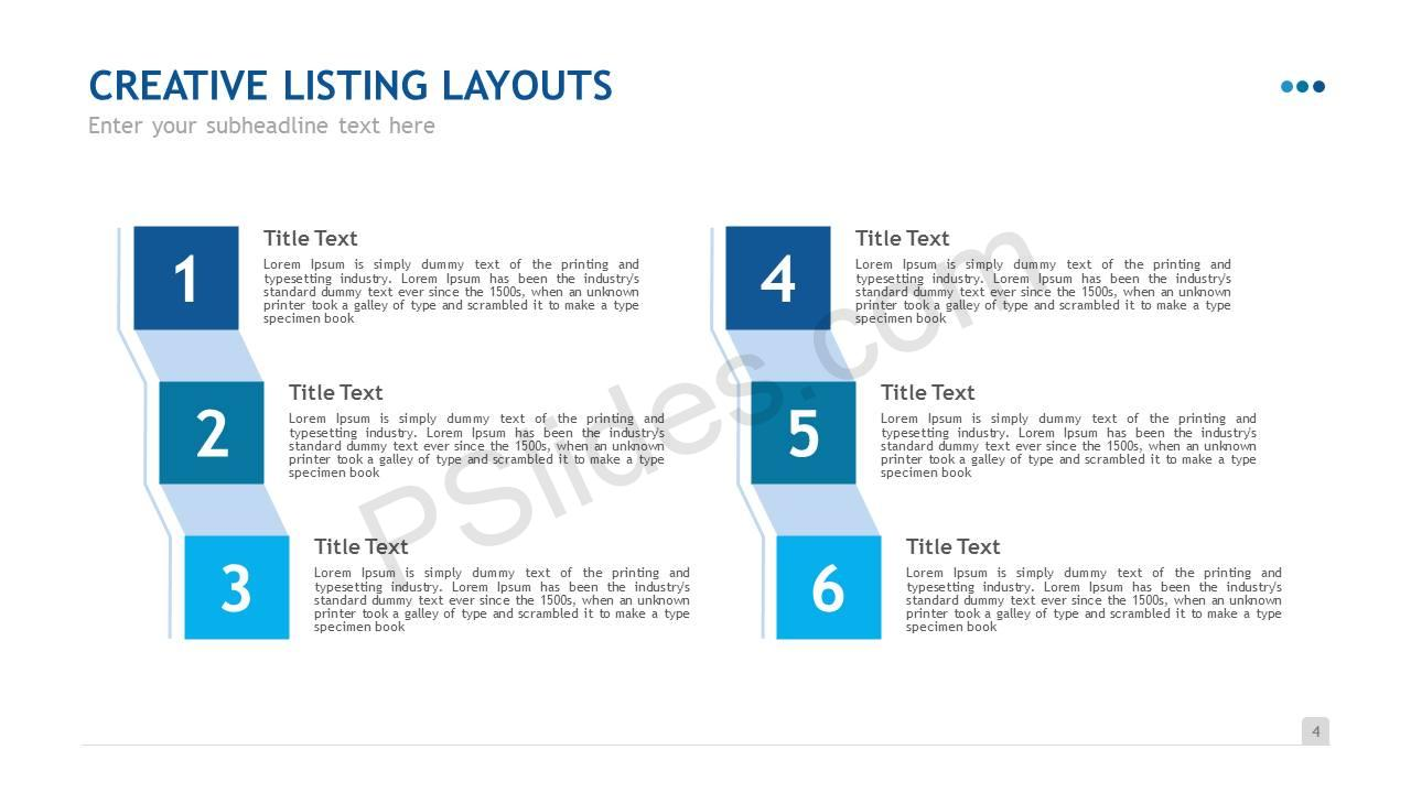Creative Listing Layouts Slide5