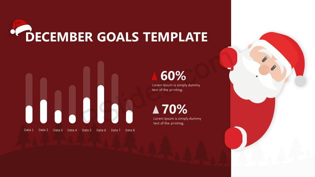 December Goals for PowerPoint Slide1