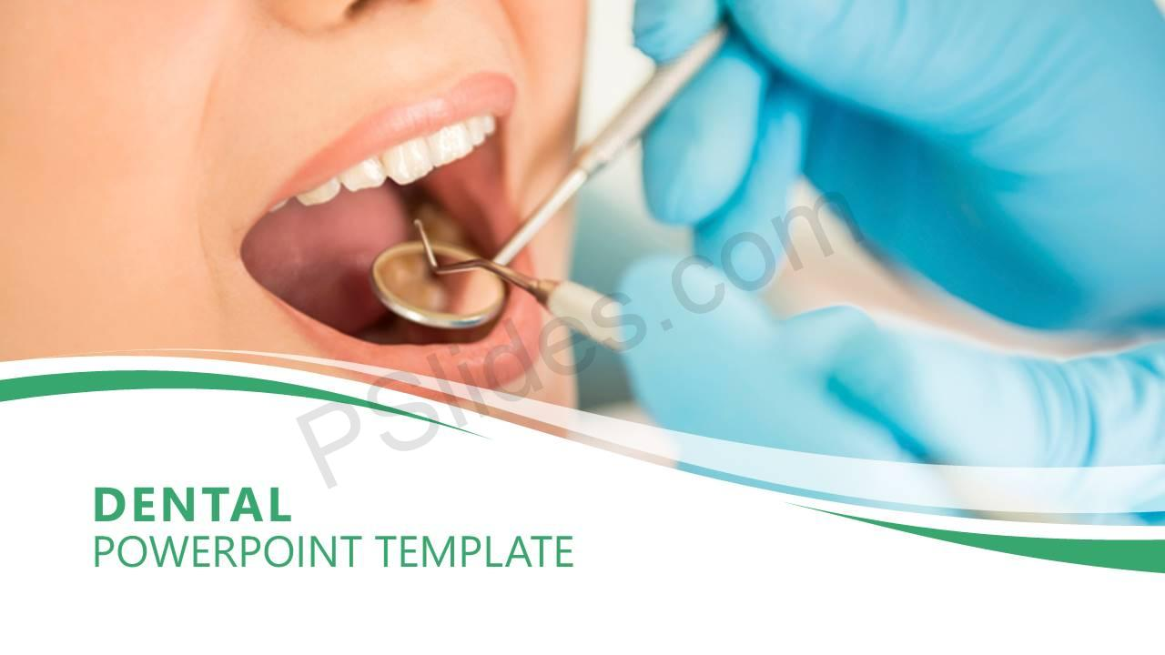 Dental PowerPoint Template Slide1