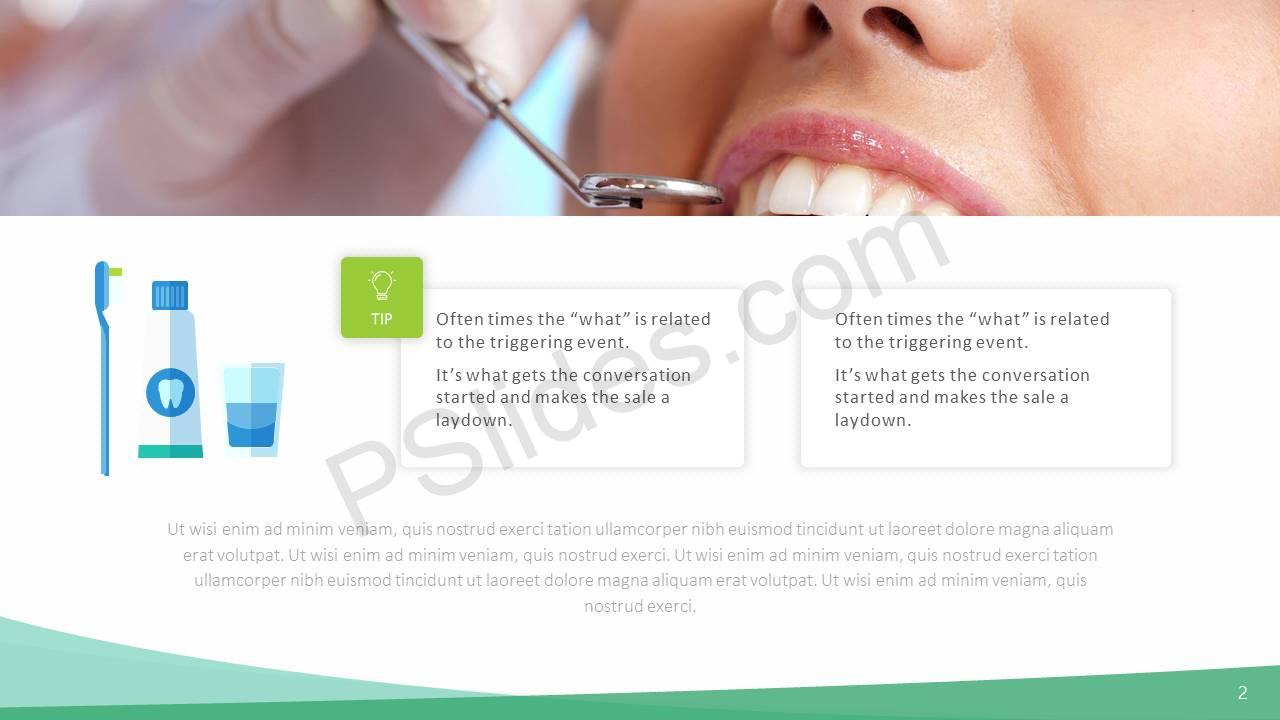 Dental PowerPoint Template Slide2