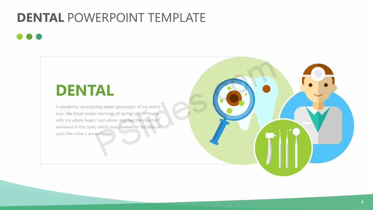 Dental PowerPoint Template Slide4