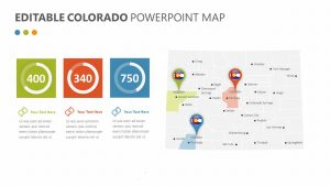 Editable Colorado PowerPoint Map