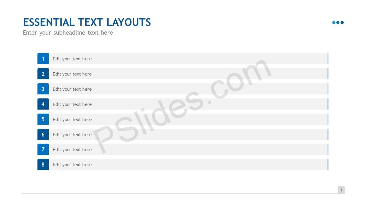 Essential Text Layouts Slide2