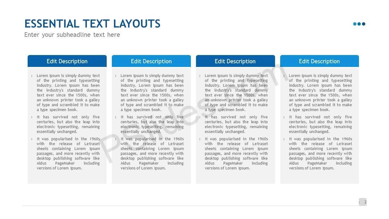 Essential Text Layouts Slide3