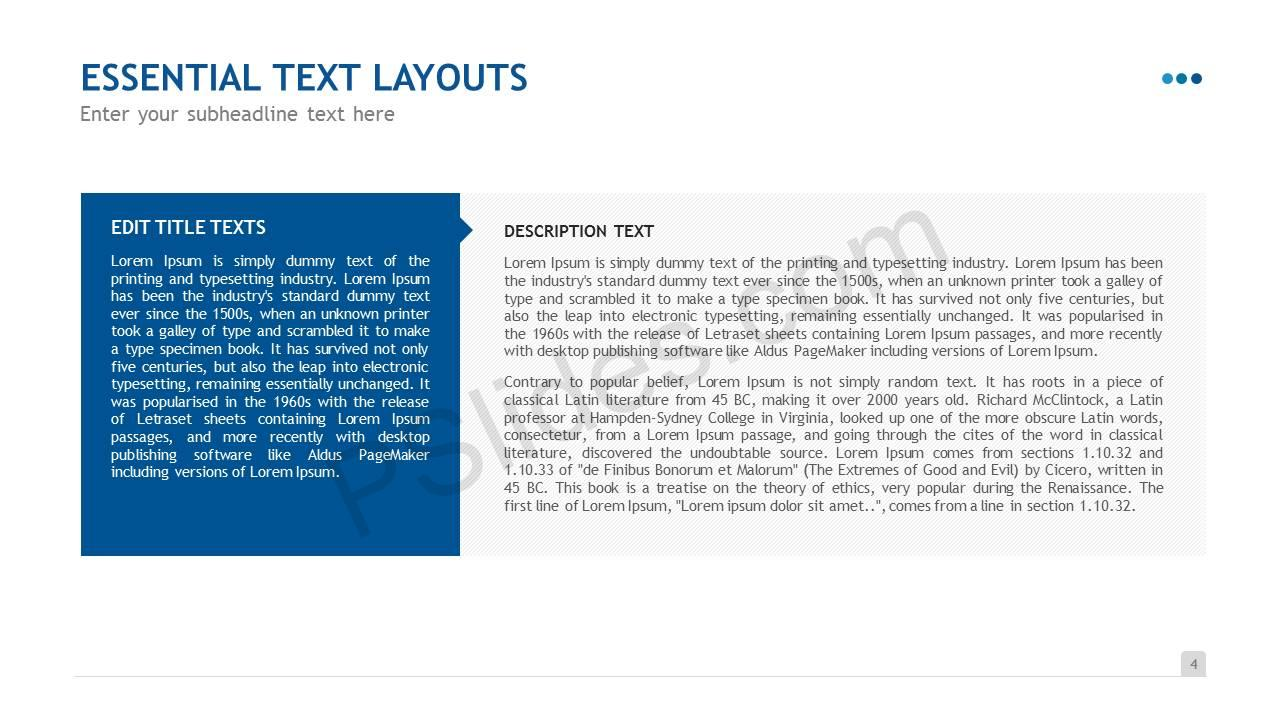 Essential Text Layouts Slide5