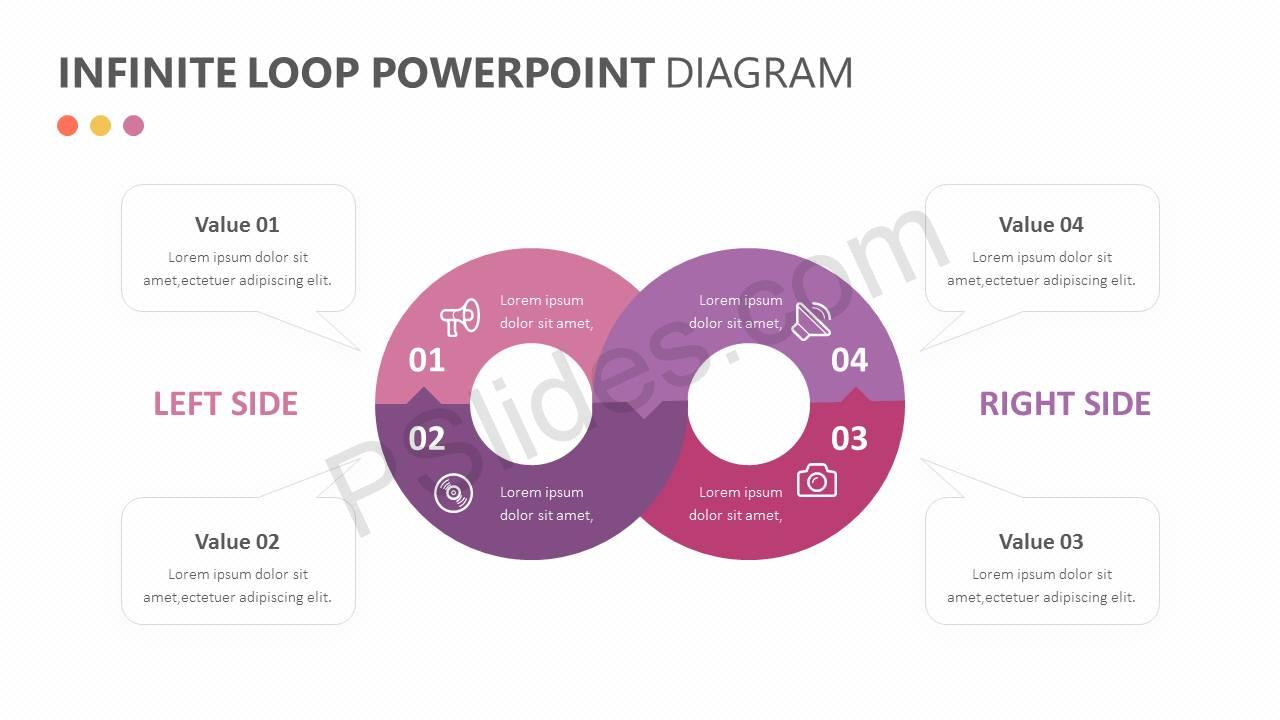 Infinite Loop PowerPoint Diagram Slide2
