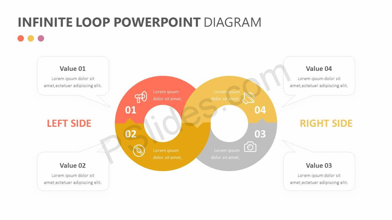 Infinite Loop PowerPoint Diagram Slide3