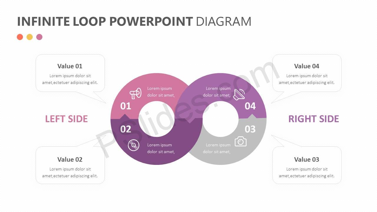 Infinite Loop PowerPoint Diagram Slide4