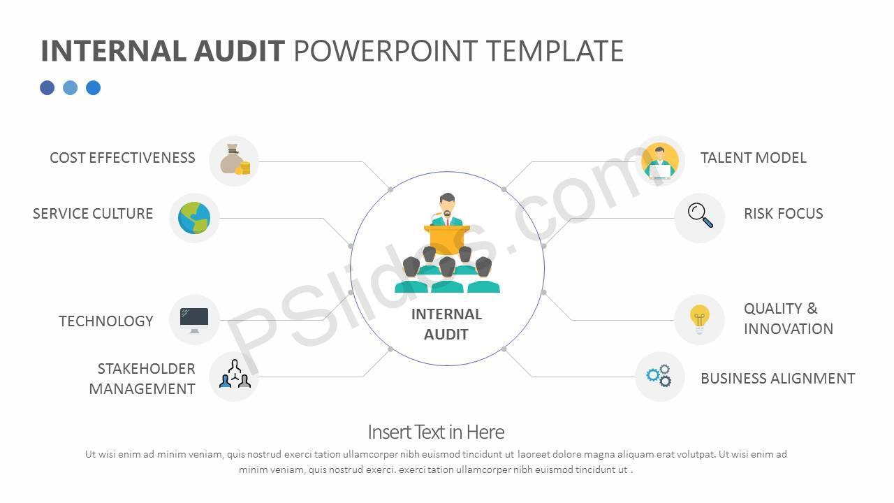 Internal Audit PowerPoint Diagram Slide1