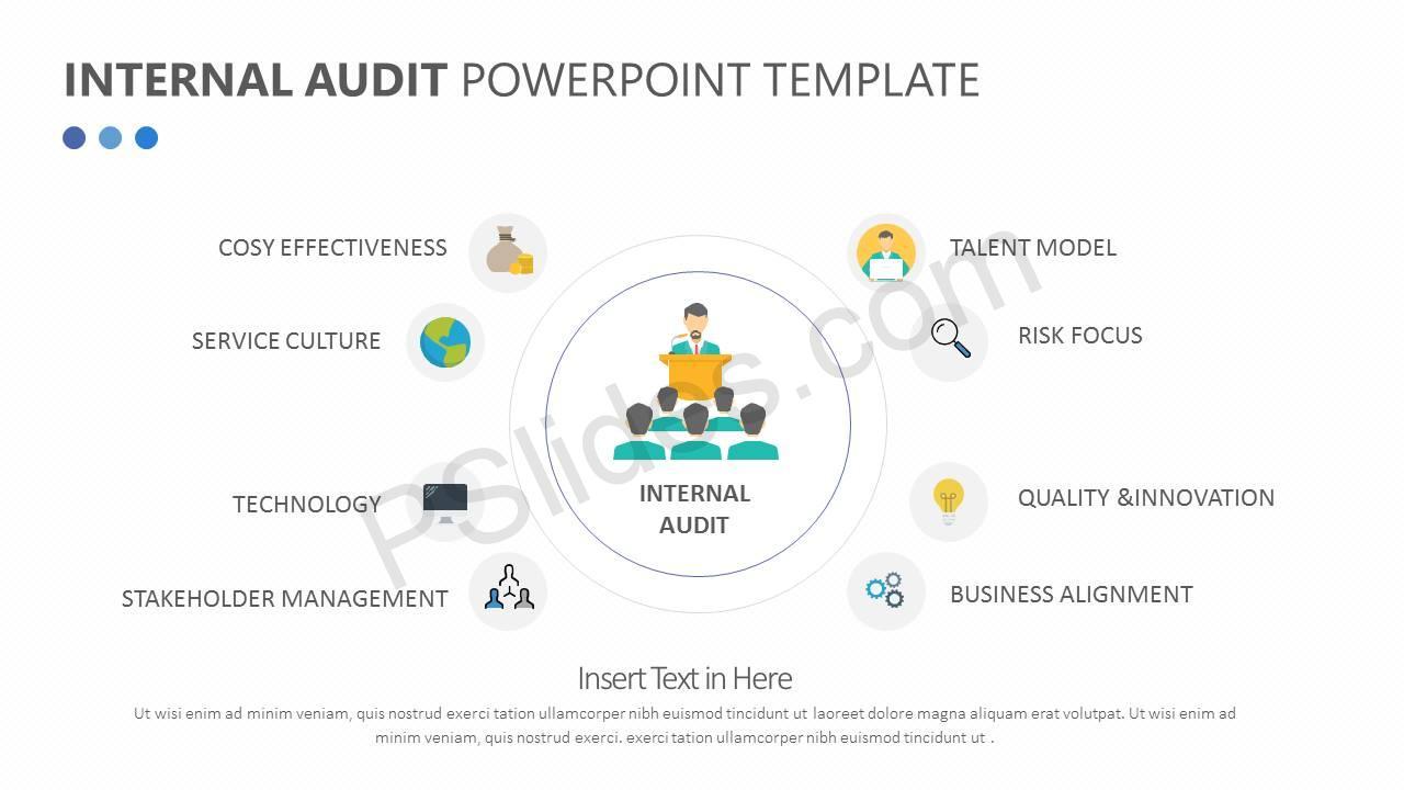 Internal Audit PowerPoint Diagram Slide2