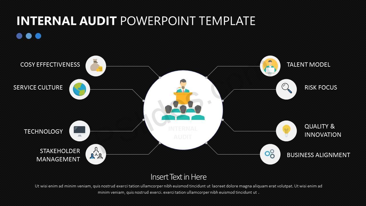 Internal Audit PowerPoint Diagram Slide3